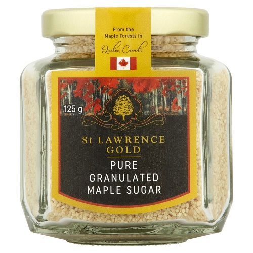St Lawrence Gold 100% Pure Granulated Maple Sugar 125g