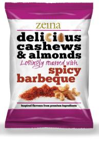 Zeina Delicious Spicy BBQ Cashews & Almonds 40g