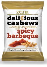 Zeina Delicious Spicy BBQ Cashews 40g
